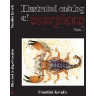 Kovařík S., 2009: Illustrated catalog of Scorpions, part 1., 170 pp.