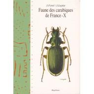 Forel J., Leplat J., 2005: Faune des Carabiques de France 10