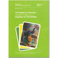 Le Peru B., 2011: The spiders of Europe, a synthesis of data (Volume 1).  Atypidae to Theridiidae