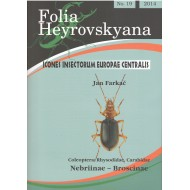 Farkač J., 2014: Nebriinae - Broscinae (Coleoptera: Rhysodidae, Carabidae), 24 pp. Folia Heyrovskyana