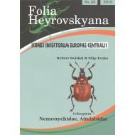 Stejskal R., Trnka F., 2015: Nemonychidae, Attelabidae. 16 pp. Folia Heyrovskyana 22