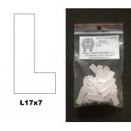 """27.926 - Étiquettes autocollantes """"BRISTOL"""" - L17x7"""