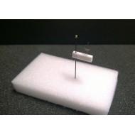 03.33 - Plastazotové hranolky pro dvojitou montáž hmyzu 4x4x12 mm