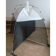 26.66 - SLAM Malaise trap (black and weight) - height 110 cm, length 110 cm, breadth 110 cm