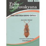 Boháč J., 2016: Staphylinidae: Omaliinae. 24 pp. Folia Heyrovskyana 24