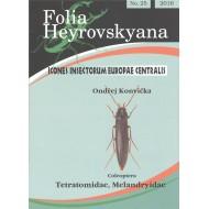 Konvička O., 2016: Coleoptera: Tetratomidae, Melandryidae. 20 pp. Folia Heyrovskyana 25