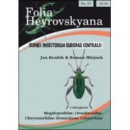 Bezděk J., Mlejnek R., 2016: Megalopodidae, Orsodacnidae, Chrysomelidae: Donaciinae, Criocerinae. 63 pp.  Folia Heyrovskyana 27