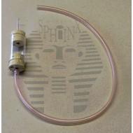 Exhaustor - průměr válce 30 mm, otvor vstupní trubičky 7 mm