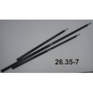 laminate handle, single ( one-piece ), 80 cm long