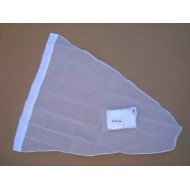 24.11 - Net bag diameter 35 cm, long - 67 cm - white