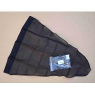 24.12 - Net bag diameter 35 cm, long - 67 cm - black