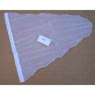 24.14 - Pytel - průměr 50 cm - bílý, hloubka pytle - 90 cm