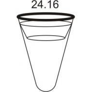 diameter 65 cm, long - 115 cm - black