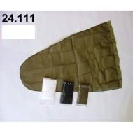 24.111 - Prodloužený pytel - průměr 30 cm - bílý, hloubka pytle - 70 cm