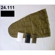 Prodloužený pytel - průměr 30 cm - černý, hloubka pytle - 70 cm
