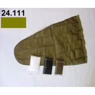 24.111 - Prodloužený pytel - průměr 30 cm - khaki, hloubka pytle - 70 cm