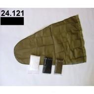 24.121 - Prodloužený pytel - průměr 35 cm - černý, hloubka pytle - 77 cm