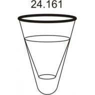 Prodloužený pytel - průměr 65 cm - bílý, hloubka pytle - 135 cm