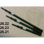 26.22 - Duralumin handles minimum length 65 cm, maximum length 140 cm