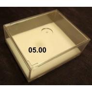 Transportní plastová krabička s víčkem