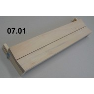 Adjustable boards - span 8 cm, length 40 cm, groove 0 -12 mm