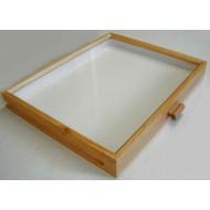 Celodřevěná krabice do kabinetu (40x50) OLŠE PŘÍRODNÍ - bez výplně dna pro UNIT SYSTÉM - KLASIK