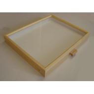 06.852 - Celodřevěná krabice do kabinetu (40x50) BOROVICE - bez výplně dna pro UNIT SYSTÉM - KLASIK