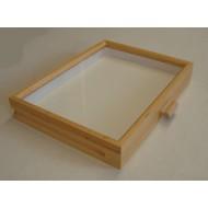 06.95 - Celodřevěná krabice do kabinetu (30x40) OLŠE PŘÍRODNÍ - bez výplně dna pro UNIT SYSTÉM - KLASIK
