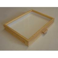 06.952 - Celodřevěná krabice do kabinetu (30x40) BOROVICE - bez výplně dna pro UNIT SYSTÉM - KLASIK