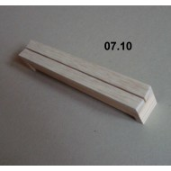 07.10 - Setting boards micro - span 3 cm, length 20 cm, groove 2 mm