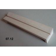 07.12 - Napínadlo (balsa) - šířka 6 cm, délka 30 cm, škvíra 6 mm