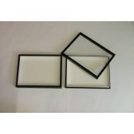 05.67 - Entomologická krabice 30x40x5,4 cm - bez výpně dna pro UNIT SYSTÉM - KLASIK, skleněné víko - černá