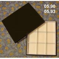 05.90 - Krabice polepené plátnem bez výplně dna - PLNÉ VÍKO pro UNIT SYSTÉM - PLAST