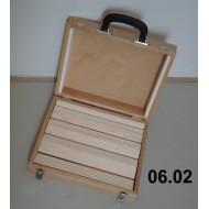 Portable suitcase for balsa spreaders 27x33x9 cm