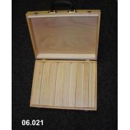 Portable suitcase for balsa spreaders 33x43x9 cm