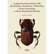 Génier F., 2009: Le genre Eurysternus Dalman, 1824 (Scarabaeidae: Scarabaeinae: Oniticellini),
