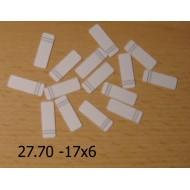 Nalepovací štítky - linkované 11x4