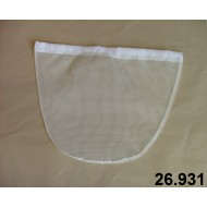26.931 - Replacement nets bag, round or triangular (UHELON 0,35mm)